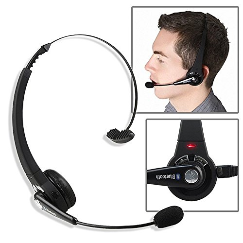 Insten Bluetooth Wireless Headset compatible with Apple iPhone X / 8 / 8 Plus Sony Playstation 3 (Best Insten Bluetooth Headphones Wirelesses)