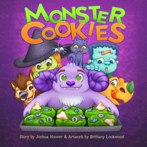 Monster Cookies (Monster Halloween Cookies)