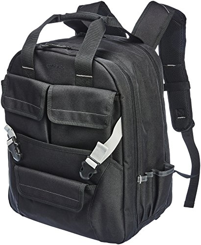 AmazonBasics Tool Bag Backpack - 51-Pocket with Adjustable Pouch Front by AmazonBasics