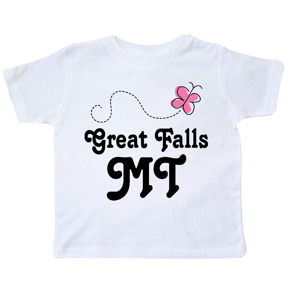 inktastic Butterfly Montana Great Falls Toddler T-Shirt