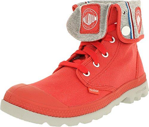 Palladium Women's Baggy Lite CVS Chukka Boot, Cayenne Red, 6