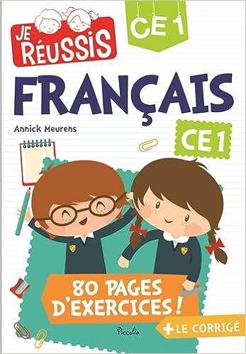 Lire un Je réussis français CE1 pdf, epub