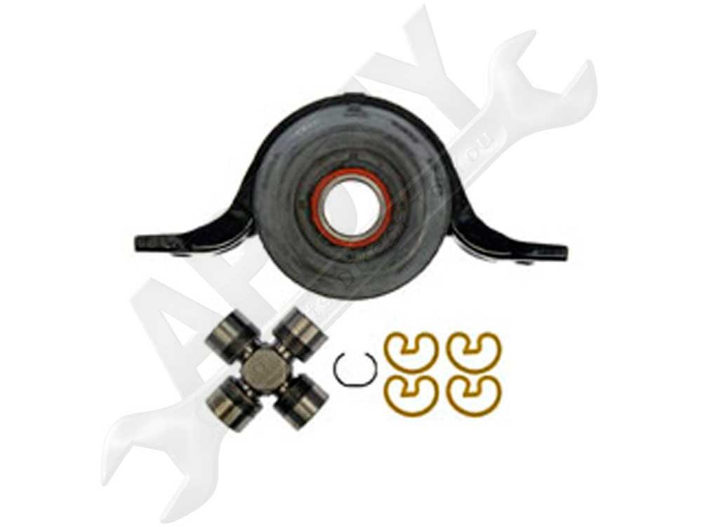 APDTY 045213 Driveshaft Center Support Bearing & U-Joint Fits 2002-2007 Saturn Vue, 2005-2006 Chevorlet Equinox, 2006 Pontiac Torrent & 2007 Chevorlet Captiva Sport (Mexico Region)(Replaces 25775162) by APDTY