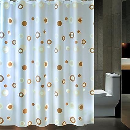 qpla impermeable antimoho para ducha cortina para cuarto de baño ...