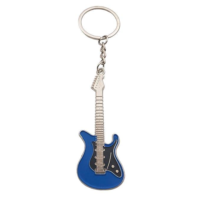 Amazon.com: Wang Zhai Llavero para guitarra, para hombre ...