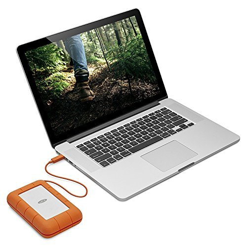 LaCie Rugged Thunderbolt USB-C 5TB Portable