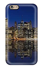 Charles Lawson Brice's Shop New Fashionable Cover Case Specially Made For Iphone 6(manhattan Night Skyline) 9955192K22589662