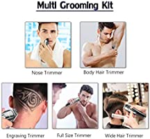 Afeitadora eléctrica facial multifunción para hombres Afeitadora ...