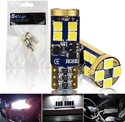 Safego Extremely Bright LED Fog Lights H8 H9 H11 LED Bulbs for Cars DRL or Fog Lamps Xenon White FL-H11-H16-6D-2835-2