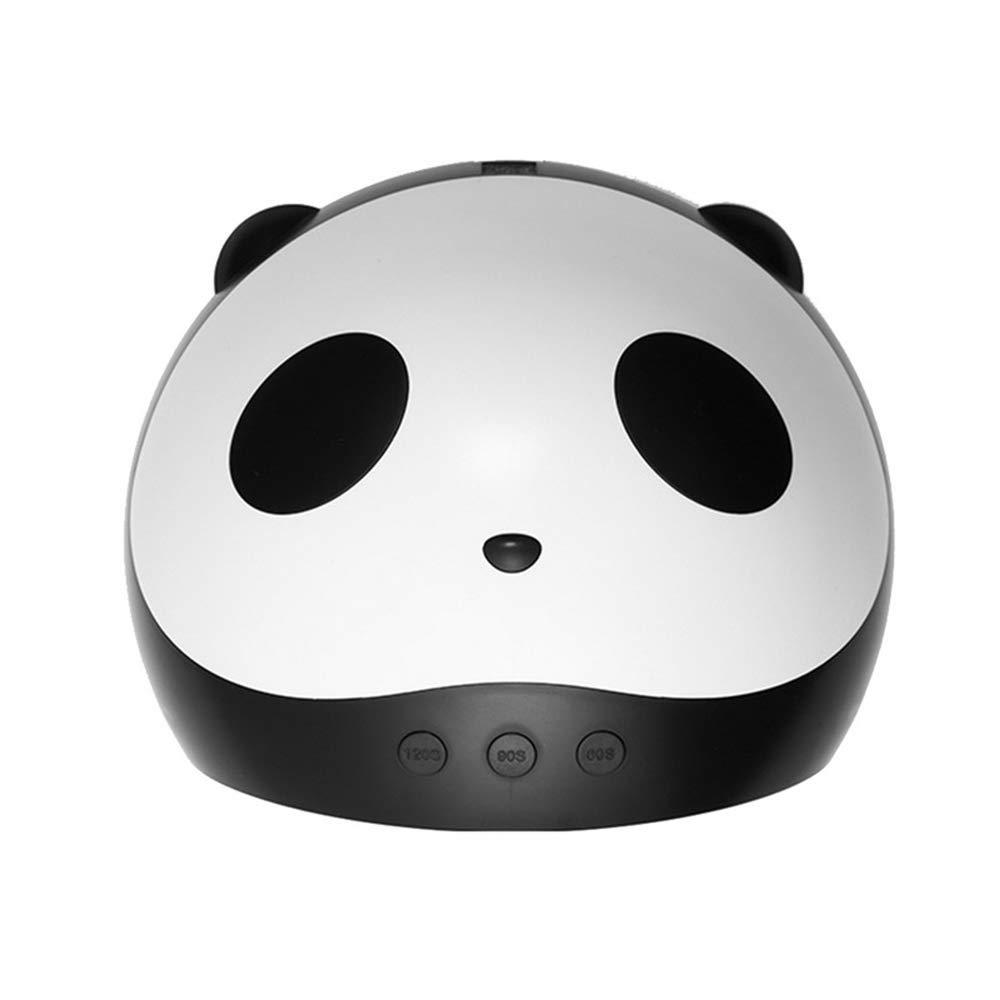 BFACCIA Séchoir à Ongles 24W& 36W Motif de Panda Lampe UV de LCD avec 3 Minuteries Intégrées pour Gel et Vernis Semi Permanents Lampe UV Ongles Gel (36W)