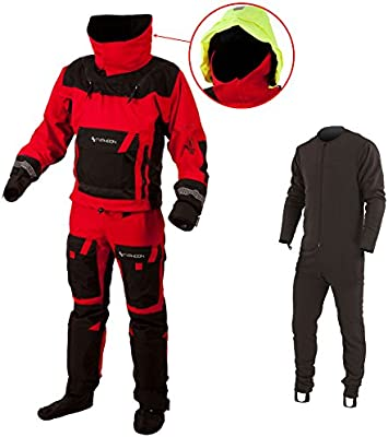 Typhoon Mens PS330 Extreme KAYAK/OCEAN Drysuit with Con Zip ...