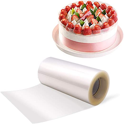 Tape Clear DIY Transparent Cake Collar Roll Mousse Surrounding Edge Wrap