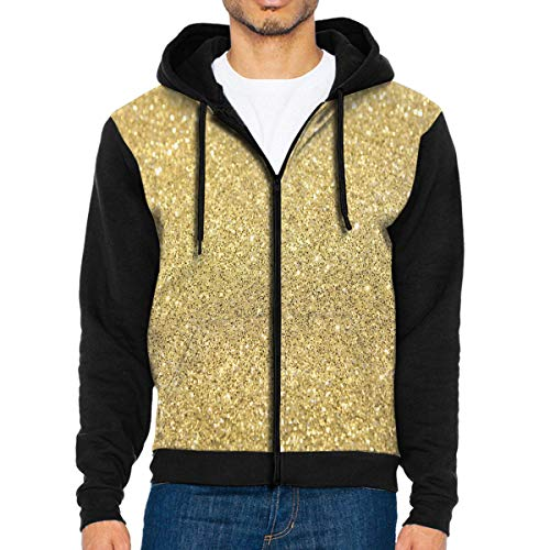 NMCEO Men Hoodie Glitter Tumblr Backgrounds Designer Full Zip with Pocket Jackets Lightweight for Halloween