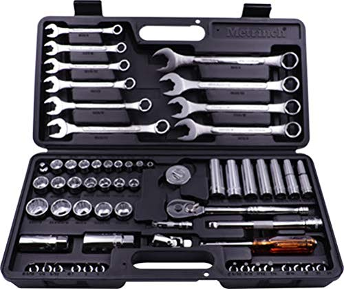 62 Pc Metrinch Combo Spanner Socket & Wrench Set by Metrinch