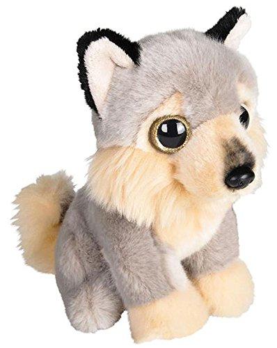ffed Wolf Plush Floppy Animal Heirloom Collection ()