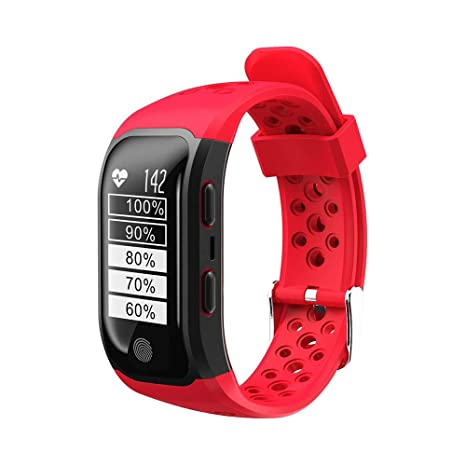 THINKMIC Smartwatch Pulsera Inteligente Impermeable IP68 ...