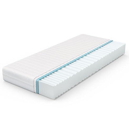 VitaliSpa® Calma Comfort Plus 7 Zonen Premium Kaltschaum Matratze (90 X 200  Cm,