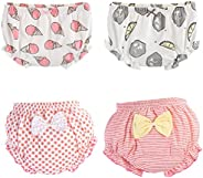 October Elf Baby Underwear Toddler Training Pants Boys Combed Cotton Diaper Covers for Girls