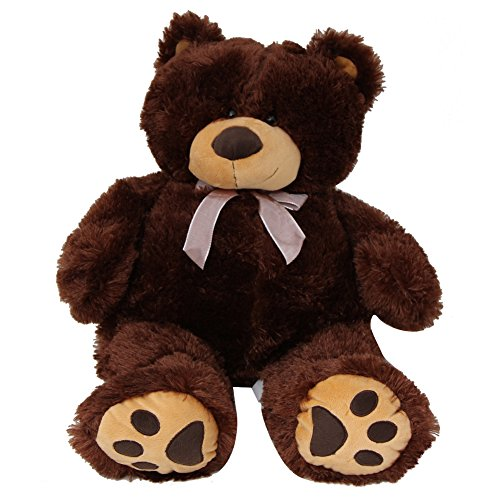 Price comparison product image Big Brown 24'' Inches Large Over Sized Soft Plush Teddy Bear Stuffed Animal