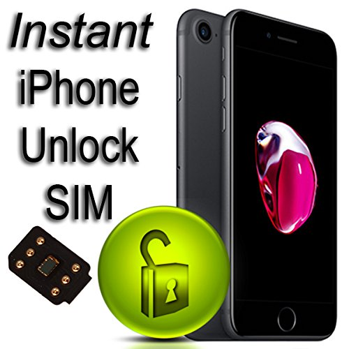Instant Unlock SIM Card for iPhone: Amazon co uk: Electronics