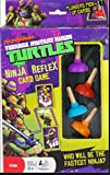 nickelodeon game card - Teenage Mutant Ninja Turtle Reflex Card Game Plunger Pick Up Cards