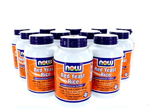 NOW Foods Red Yeast Rice & Coq10, 120 Vcaps by NOW Foods
