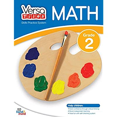 hand2mind VersaTiles Skills Practice Math Book (Grade 2): Industrial & Scientific