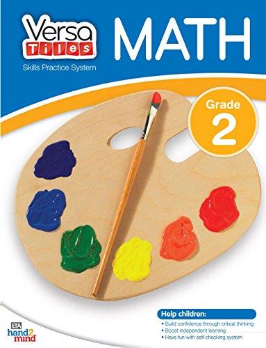 hand2mind VersaTiles Skills Practice Math Book (Grade 2)