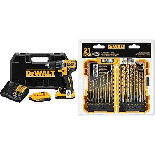 (DEWALT DCD791D2 20V MAX XR Li-Ion 0.5