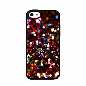 Red Square Glitter - Phone Case Back Cover (iPhone 4/4s - Plastic)