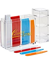 100 Color Coded Collar Stays