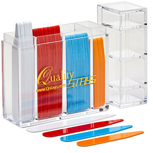 Quality Stays 100 Color Coded Collar Stays
