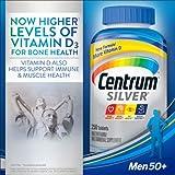 Centrum Silver Multivitamin Supplement, Men 50+, se4hc Pack of 3 (250 Count )