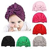 Zando Baby Turban Headwraps Newborn Hospital Hats