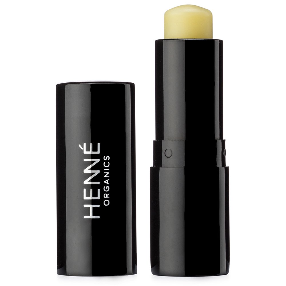 Henné Organics V2 Lip Balm Treatment Stick - USDA Certified Organic All Natural Unscented Moisturizer For Lips - Mild For Sensitive and Chapped Lip Care - STICK