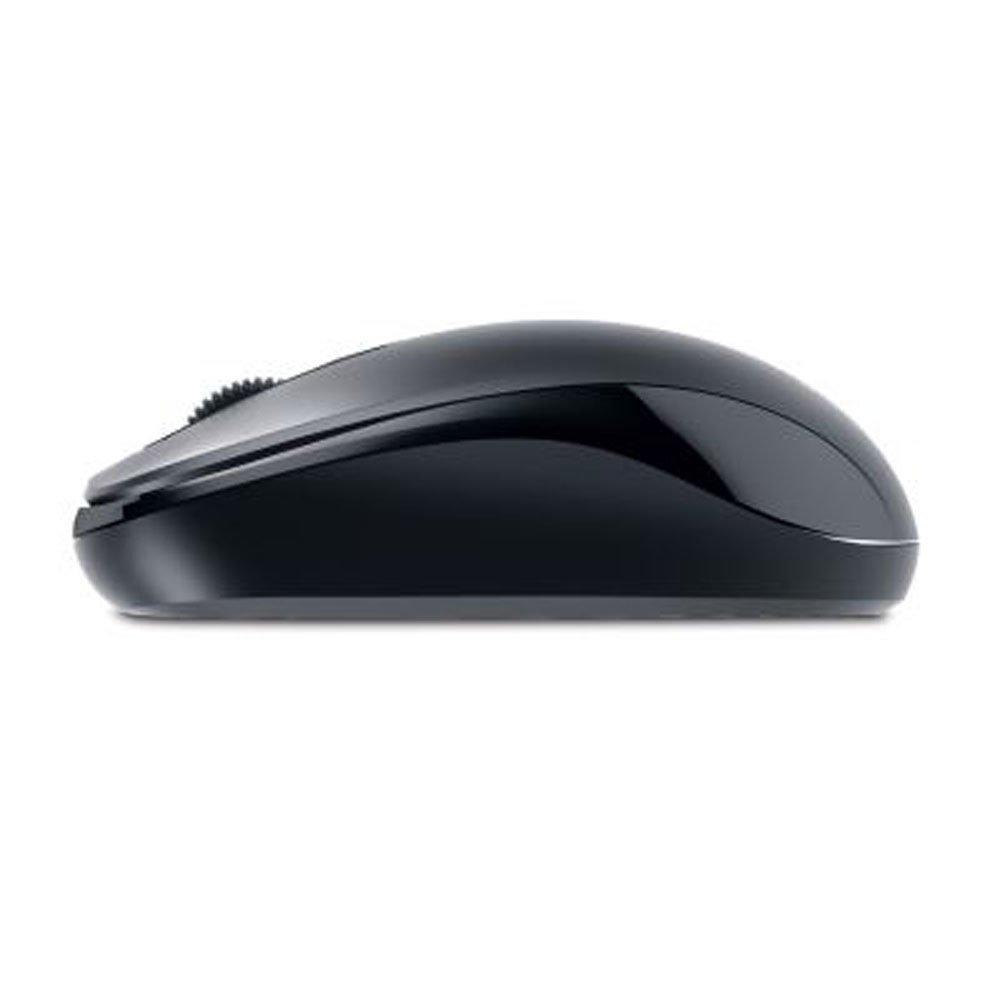Genius DX-110 PS/2 Óptico 1000DPI Negro - Ratón (PS/2, Oficina, Pressed Buttons, Rueda, Óptico, Windows 10 Home, Windows 7 Home Basic, ...