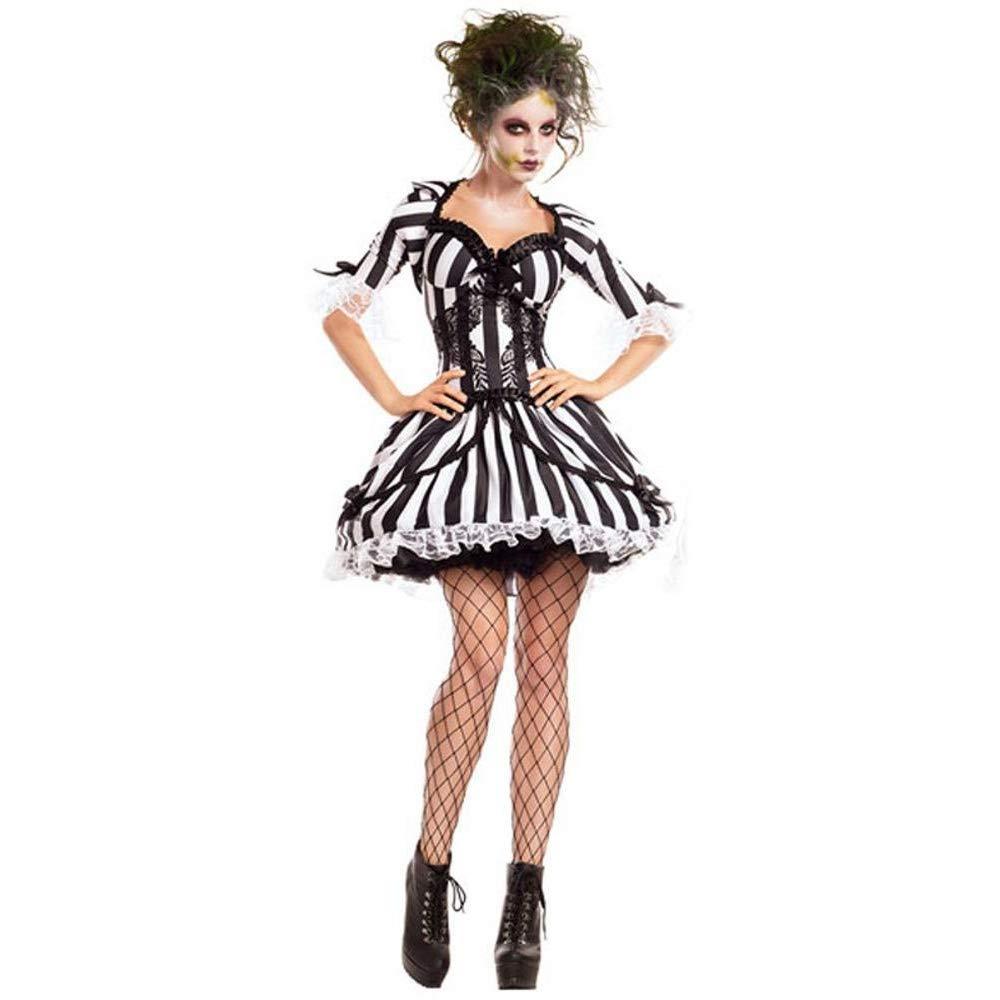 Olydmsky karnevalskostüme Damen Halloween Kostüm Geist Braut Kostüm Vampire Knight Kostüm Cosplay Party Kostüm