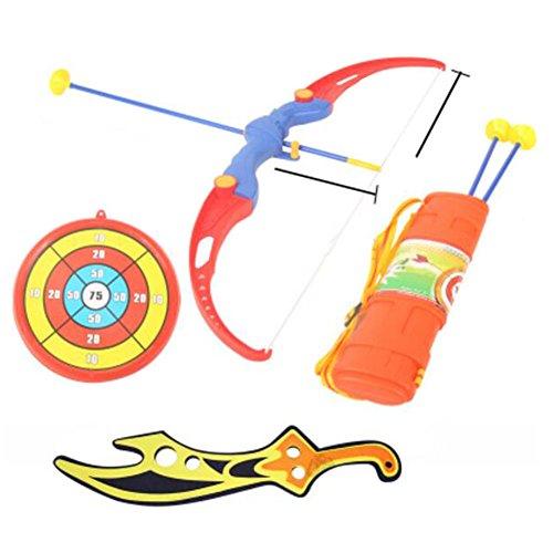 おもちゃの弓&矢印サクションカップの矢印&ターゲットアーチェリーの震え02