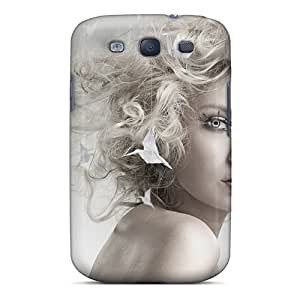 Galaxy Cover Case - Beautiful Blonde Girl Protective Case Compatibel With Galaxy S3