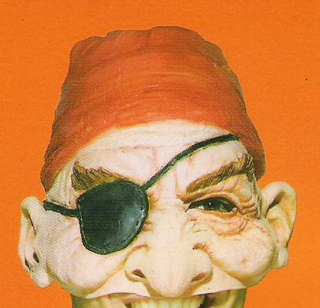 Mask; Buccaneer, Pirate (Pmg Halloween Masks)
