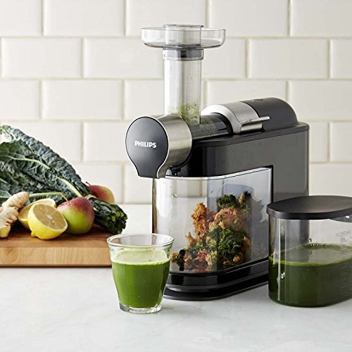 - Electric Philips Masticating Micro Juicer
