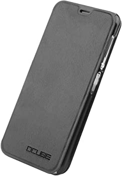 SYYL Elephone A4 Pro Funda, Flip PU Protictive Cover Case Funda ...
