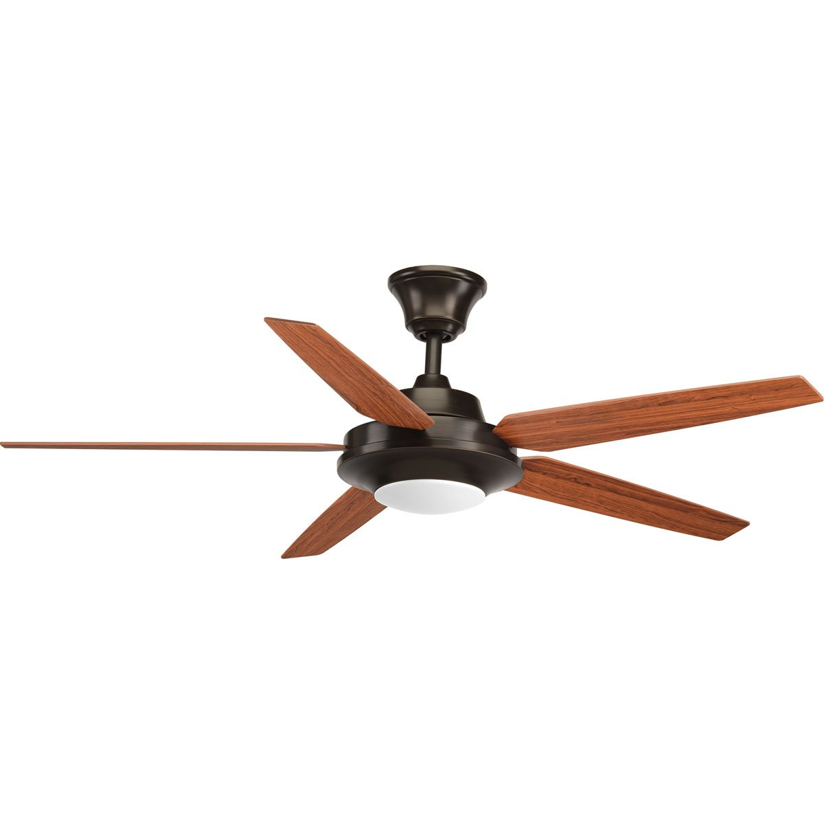 Progress Lighting P2539-2030K Contemporary Modern 54 Ceiling Fan from Signature Plus II Collection Dark Finish, Antique Bronze