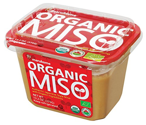 Marukome Organic Broth, Miso, 13.2 - Rice Paste
