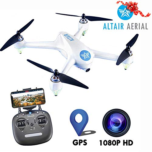 ($50 Off Now!) Altair Outlaw Se GPS Drone with Camera | 1080p HD 5G WiFi Photo & Video FPV Drone for Adults Beginner & Skilled Pilots, GPS, Auto Return Home & Follow Quad, (Lincoln, NE Company)