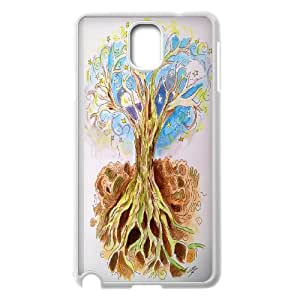 Chaap And High Quality Phone Case For Samsung Galaxy NOTE4 Case Cover -Love Tree Pattern-LiShuangD Store Case 12