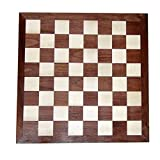 "Chess Armory 15"" Wooden Chess Set with Felted Game"
