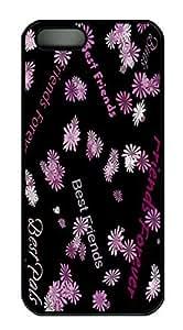 Best Friends Starry Design HAC1014048 Custom PC Hard For Iphone 6 Phone Case Cover Black