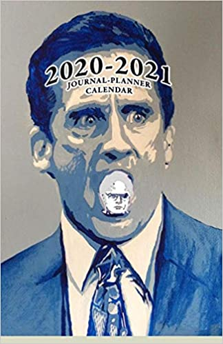 Amazon.com: 2020   2021 Journal Planner Calendar: The Office Funny