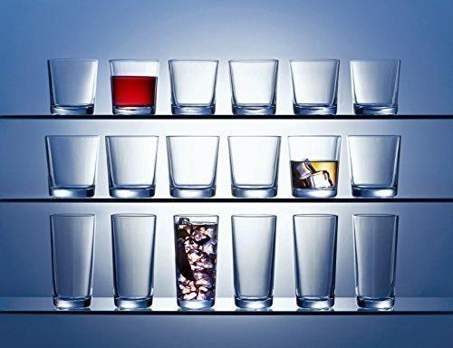 18tlg. Gläser Set Noblo - 3 verschiedene Gläser je 6 Stück